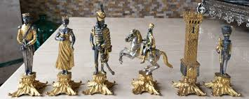 vasari waterloo chess set www chessantiques com