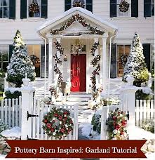 Banister Garland Ideas Make This Pottery Barn Inspired Christmas Garland A Detailed Tutorial