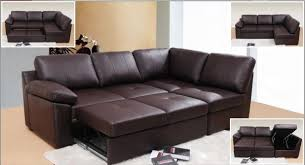alonza brown leather corner sofa bed centerfieldbar com