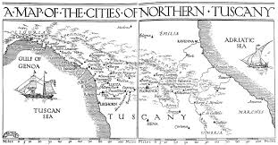 Map Of Tuscany Italy The Project Gutenberg Ebook Of Florence And Northern Tuscany By