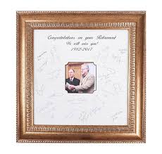 graduation frame retirement frame gift signature mat frame marriage ceremony
