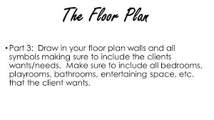 Interior Design Floor Plan Symbols by Interior Design I Final Design Project You Own Your Own Interior