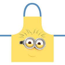 tablier de cuisine pour enfants la boutique des minions