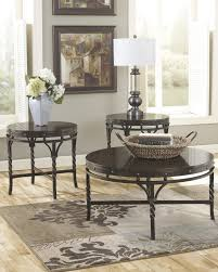 brindleton 3 piece coffee table set by ashley home gallery stores