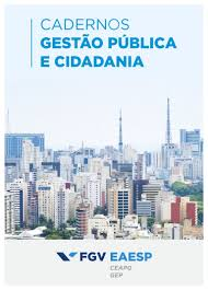cadernos gestão pública e cidadania 2016 número 3