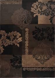 Brown Area Rugs Home Dynamix Area Rugs Fresco Rug Hd1811 500 Brown