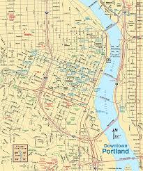 map of oregon portland interstate printout map vs oregon state road maps 153