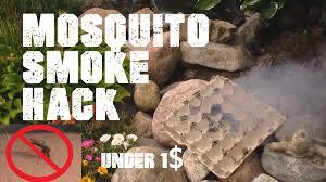 get rid of mosquitos mosquito smoker hack youtube
