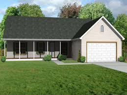 small front porches small ranch house plans with garage unique