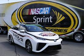 toyota motor car toyota mirai becomes world u0027s first fuel cell pace car