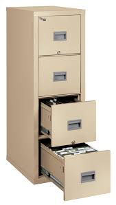 4 Drawer Vertical File Cabinet by Patriot File Cabinets