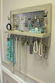 woman necklace holder images Necklace organizer wall jewelry organizer storage wall or door jpg