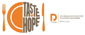dupagepads taste of hope