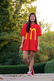 cute halloween costume ideas for 12 year olds 3 easy halloween costumes easy halloween costumes french fry