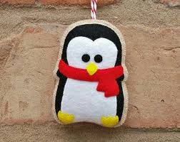 Felt Penguin Christmas Ornament Patterns - 202 best pinguins images on pinterest crafts penguins and felt