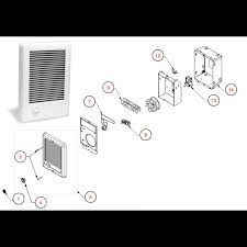 fan forced wall heater parts com pak replacement parts and accessories cs electric wall heater