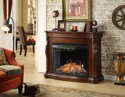 tuscan indoor fireplace in burnished cherry by greenway xiorex