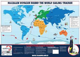 Map Request Map Kilcullen Voyager Team Ireland Vendée Globe