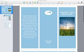 mac brochure templates the best templates collection