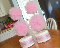 baby shower centerpieces for girl ideas pink and gold baby shower centerpieces cake topiary