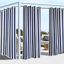 Outdoor Cabana Curtains Outdoor Curtains Outdoor Decor Coastal Cabana Stripe Woven