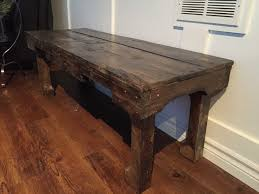 furniture rustic old wood simple square unique coffee table with