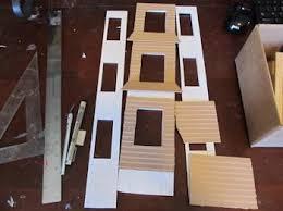 make a miniature house model