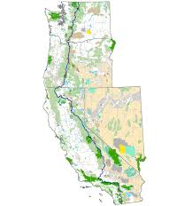 Pct Oregon Map by