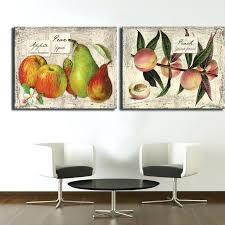 wall ideas plaster fruit wall art fruit themed canvas wall art