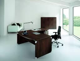 Italian Executive Office Furniture Executive Desk Wood Veneer Contemporary Commercial Stop