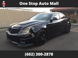 cadillac cts used cadillac cts v at one stop auto mall serving az