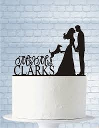 cake topper with dog wedding cake topper with dog wedding cake topper mr and mrs last