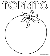 tomato coloring pages coloring pages to download and print