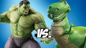 hulk rex toy story epic battle