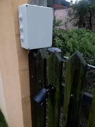 Solar Powered Fence Lights - lighting a garden with solar powered fence lights tubar u0027s blog
