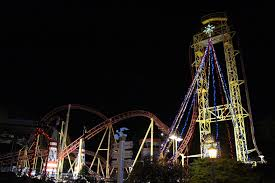 Six Flags Over Georgia Parking World Record Holding Holiday In The Park Bigger And Brighter In