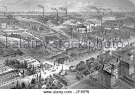 industry factory sketch industrial production manufacture