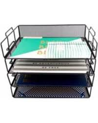 Stackable Desk Organizer Spectacular Deal On Monaco Stackable Paper Tray Desk Organizer