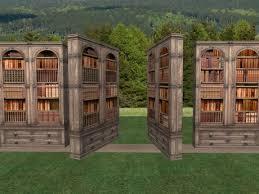 second life marketplace dats deluxe secret bookcase door system