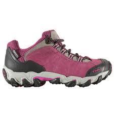 womens waterproof hiking boots sale oboz bridger low s waterproof hiking shoes free shipping