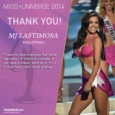 how mj lastimosa would have answered the top 5 miss universe
