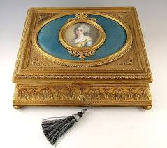 Gilt Bonze Enameled Portrait 761 Best Boxes Images On Antique Glass Box And Boxes