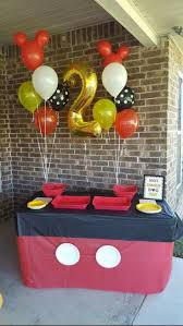 Party Decorating Ideas Best 25 Mickey Mouse Decorations Ideas On Pinterest Mickey