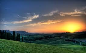 interfacelift wallpaper tuscan sunset