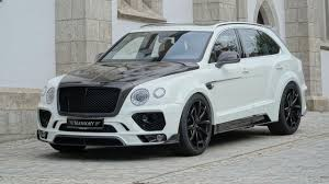 mansory cars for sale mansory unleashes tuned 691bhp bentley bentayga top gear