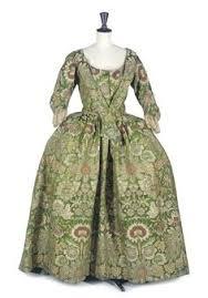 robe de chambre anglais robes du xviiième siècle costumes xviie xviiie robe