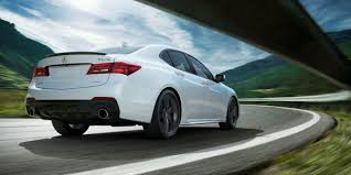 lexus vs acura yahoo the 2018 acura tlx a spec gets a v6 and torque vectoring all wheel