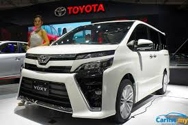 toyota new 2017 jakarta 2017 all new 2017 toyota voxy introduced cbu japan 2 0l