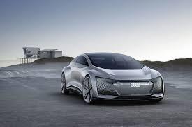 concept car of the audi aicon concept car autonomous on course for the future audi