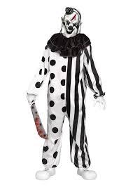 killer clown teen boys costume scary costumes